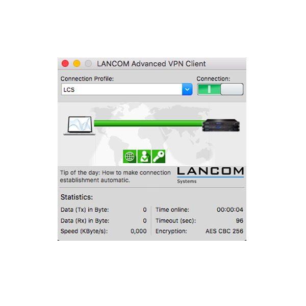 LANCOM Upgrade Advanced VPN Client (MAC)