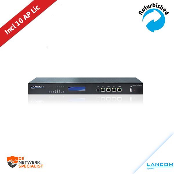 LANCOM WLC-4025+ Wireless LAN Controller inclusief 10 lic