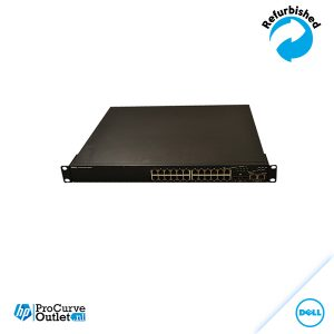 Dell Powerconnect 3524P 24Port 10/100 PoE 2 xSFP/GIG-T GB uplink 0P489K-28298