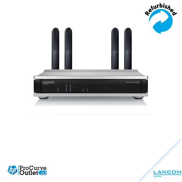 LANCOM DUALL-54ag Dual Radio 54 Mbps Access Point in OVP