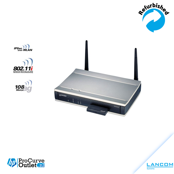 LANCOM 3550 UMTS DSL VPN Router with W-Fi (2,4 Ghz/5Ghz) + free UMTS PC Card