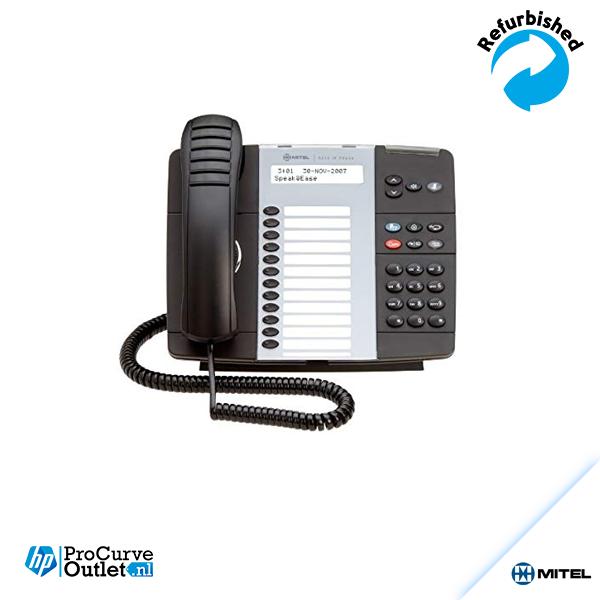 Mitel 5224 IP LCD Display IP VoIP Phone Black W/ Stand & Handset