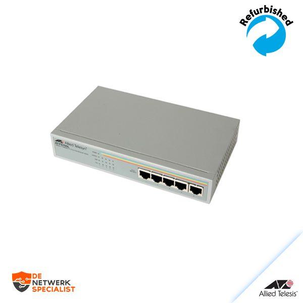 Allied Telesyn AT-FS705L 5-Port RJ45 10/100Mbps Network Ethernet Switch