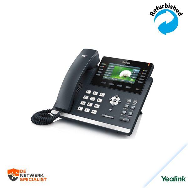 Yealink SIP-T46G IP VoIP phone /no PSU SIP-T46G