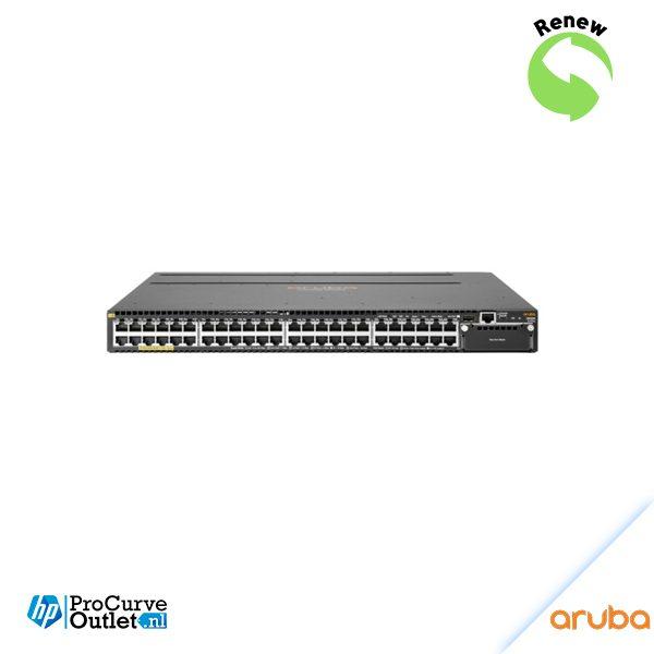 Renew Aruba 3810M 48G PoE+ 1-slot Switch JL074AR