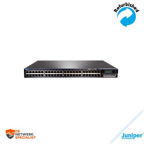Juniper EX4200-48T Layer 3 Switch - 1 x Expansion Slot - 40 x 10/100/1000Base-T, 8 x 10/100/1000Base-T