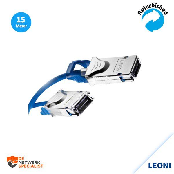 LEONI L45593-A151-B100 10GBaseCX4 Cable 15M
