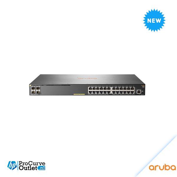 Aruba 2930F 24G PoE+ 4SFP Switch JL261A
