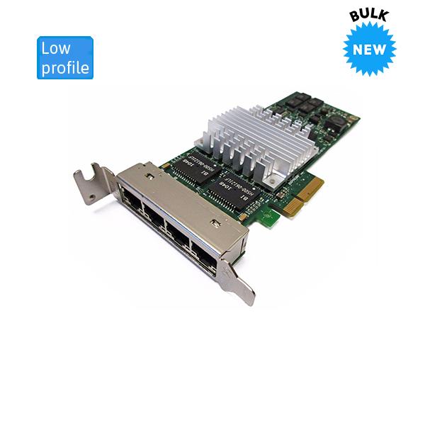 HP NC364T Quad Port Gigabit PCI-E Server NIC LP 436431-001L