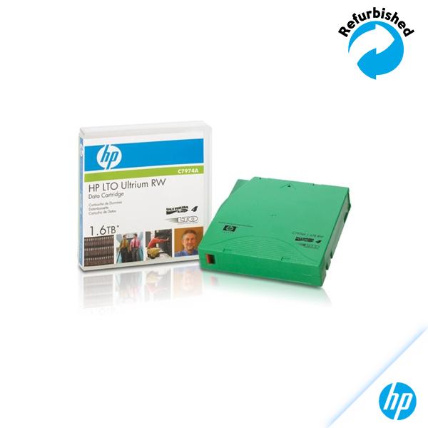 HP LTO4 Ultrium RW data cartridge 1.6TB HP C7974A