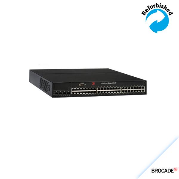 Brocade FastIron Edge Layer 3 Switch X648 44G, 4xRJ45/SFP.FESX648-PREM6
