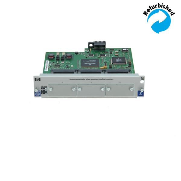 HP ProCurve gl 3-Slot Tranceiver module J4864A 886111439461