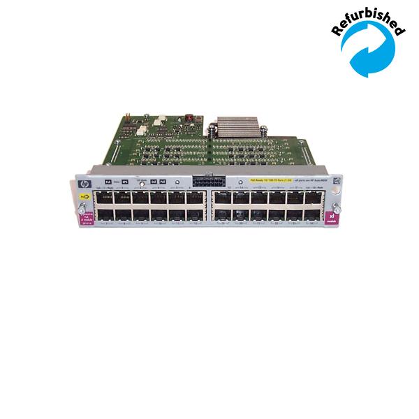 HP ProCurve xl 24-Port 10/100-TX PoE Module J8161A 808736659840