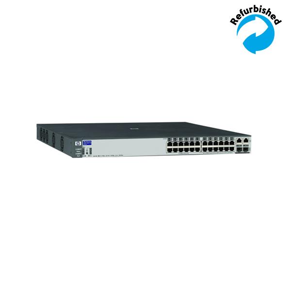 HP ProCurve 2626-24 PWR 24x10/100,2xGbit/SFP J8164A 808736675291