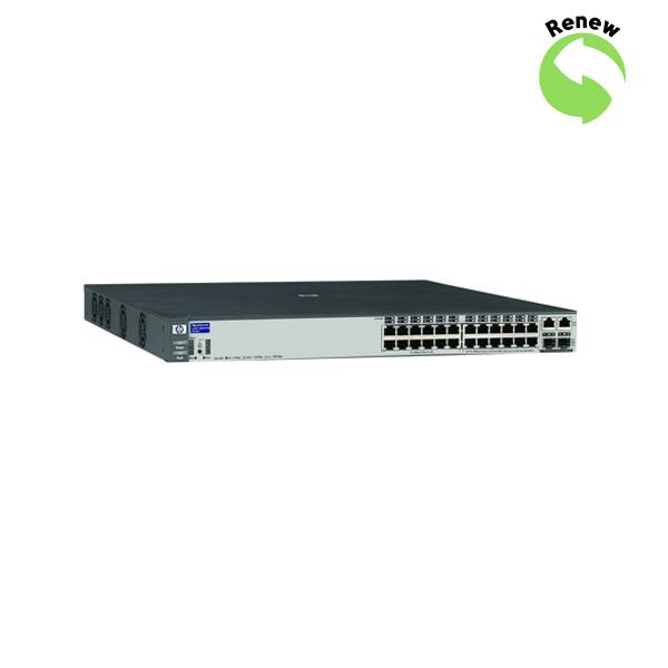 HP ProCurve 2626-24 24x10/100,2xGbit/SFP J8164AR 808736675291