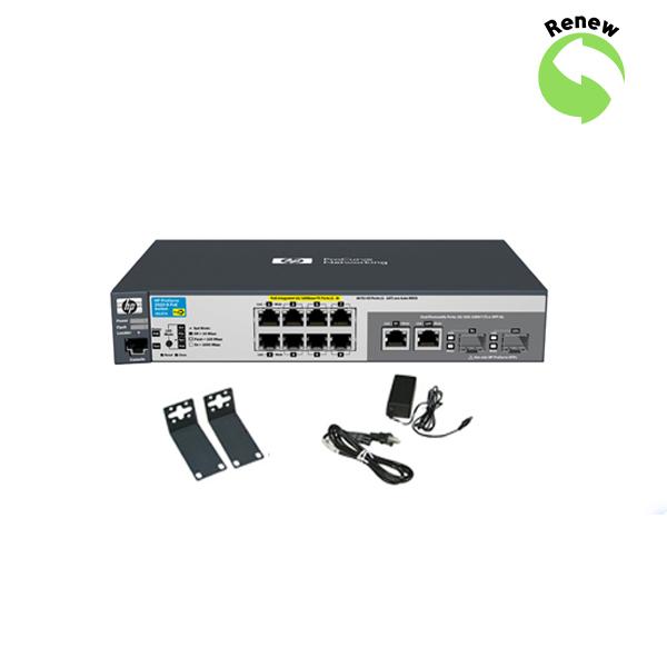 HP ProCurve 2520-8 PoE Switch J9137AR 0884420201021