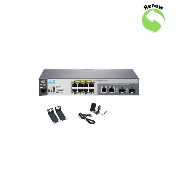 HP Procurve Switch 2520- 8-PORT PoE Gbe J9298AR 0884420221845