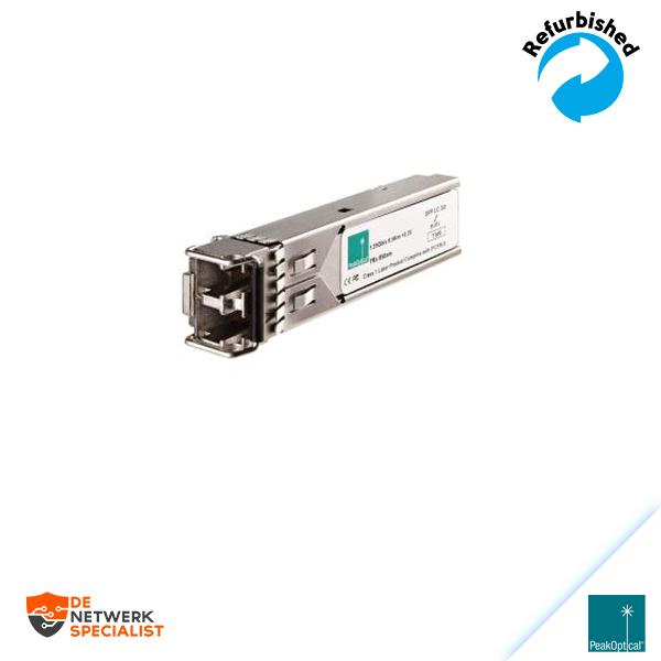 PeakOptical 1.25Gb/s LC 850nm Multi-Mode SFP Optical Transceiver PSFP-24-3831M-12