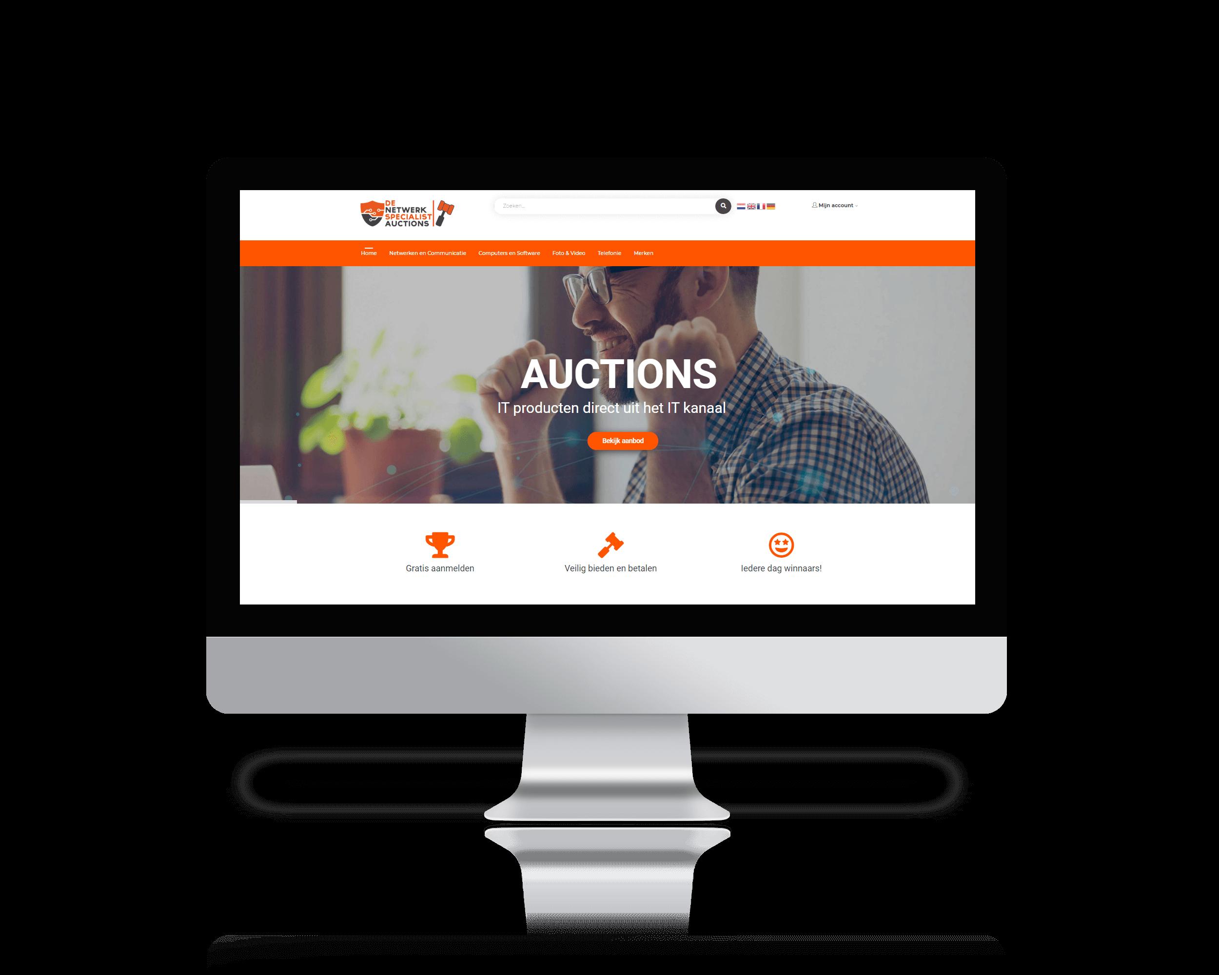 Auctions De Netwerkspecialist - De online veiling voor ICT producten