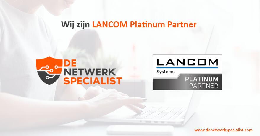 LANCOM Platinum Partner | De Netwerkspecialist