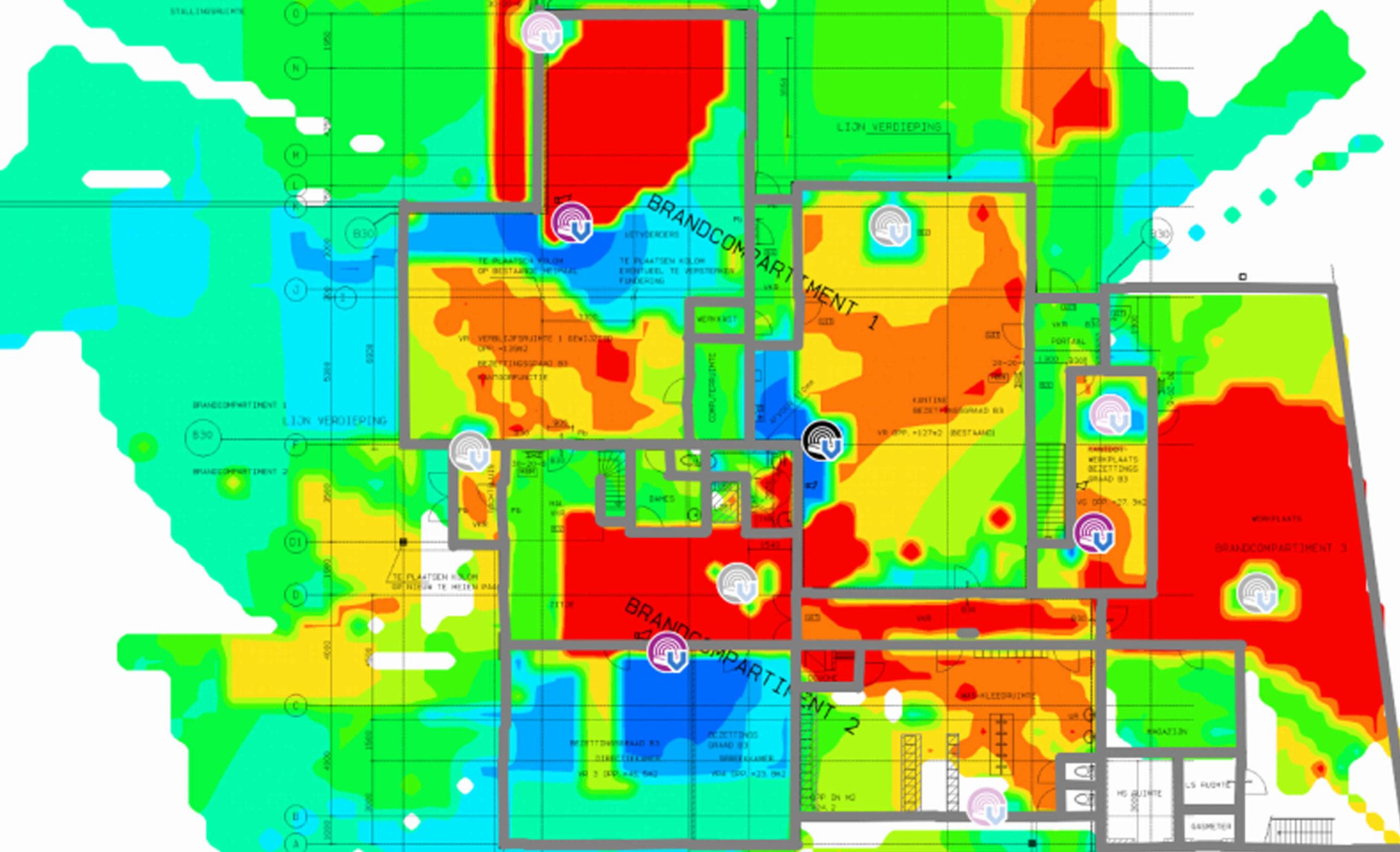 WiFi Meting zelf of laten uitvoeren? - WiFi meting uitvoeren met TamoGraph software | De Netwerkspecialist