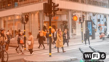 WiFi 6 als verkeerscontrolesysteem voor data